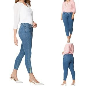 🍁Fall Sale🍁  NYDJ AMI SKINNY JEAN WITH EXPOSED ANKLE ZIPPERS